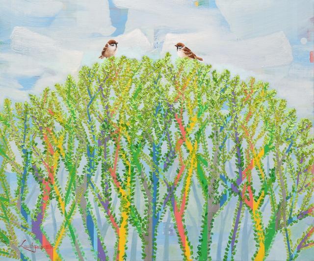 새싹나무 by 이미경