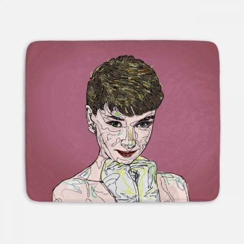 Audrey Hepburn 담요