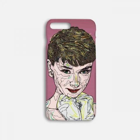 Audrey Hepburn 하드케이스