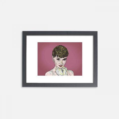 Audrey Hepburn 아트액자