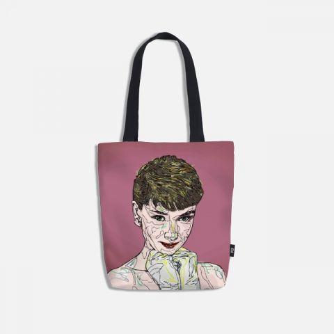 Audrey Hepburn 토트백
