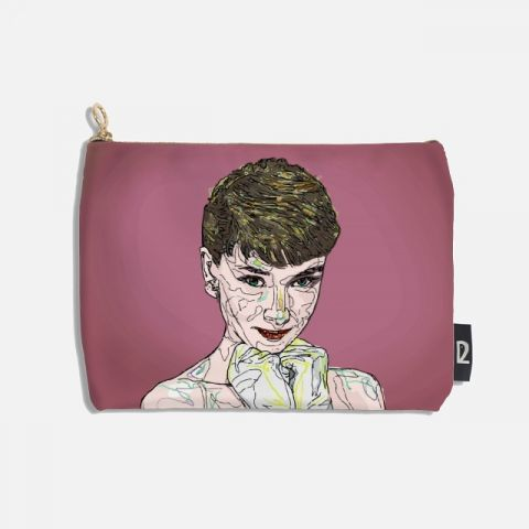 Audrey Hepburn 파우치