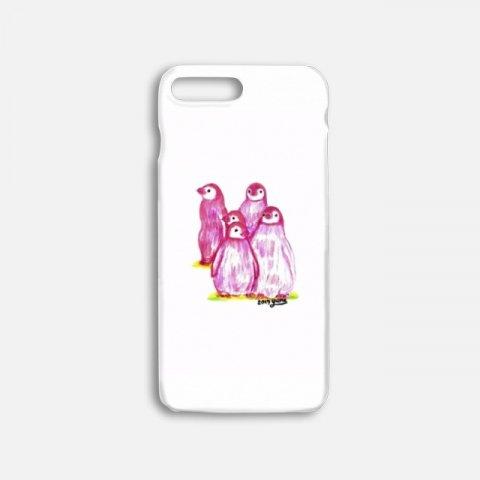 오로라펭귄_Pink Penguins 하드케이스