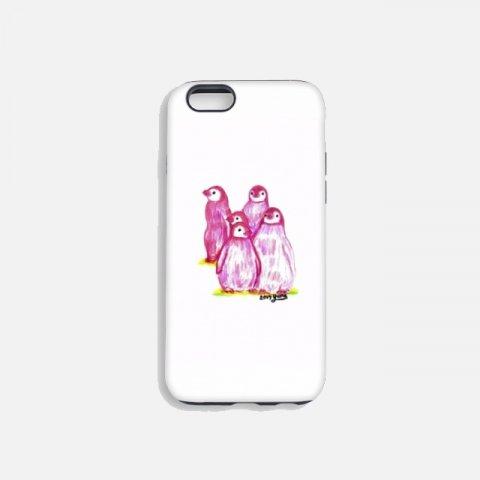 오로라펭귄_Pink Penguins 터프케이스