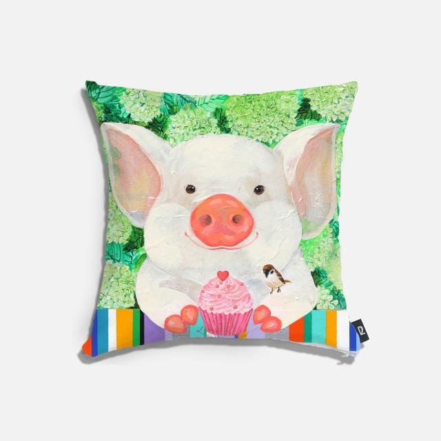 happy pig 쿠션