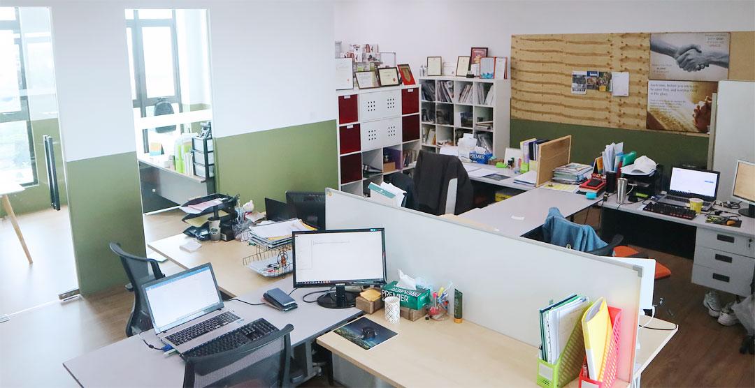 쿠알라룸푸르 글로벌센터 내부전경 슬라이더