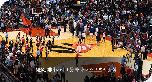 NBA, 메이저리그 등 캐나다 스포츠의 중심