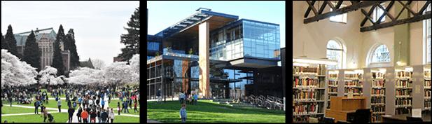 University of Washington(UW)의 다양한 환경