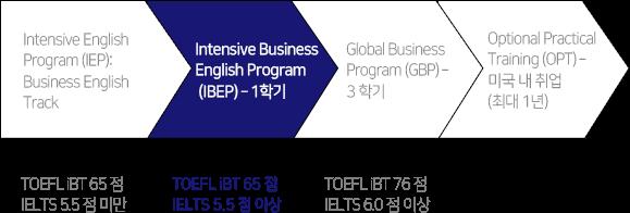 UW IELP 국제 비즈니스 자격증 프로그램 아웃라인에 대한 설명