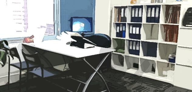 ed:m유학센터 사무실