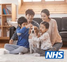 NHS 의료비 무상 지원