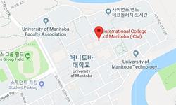 매니토바 대학교의 지도