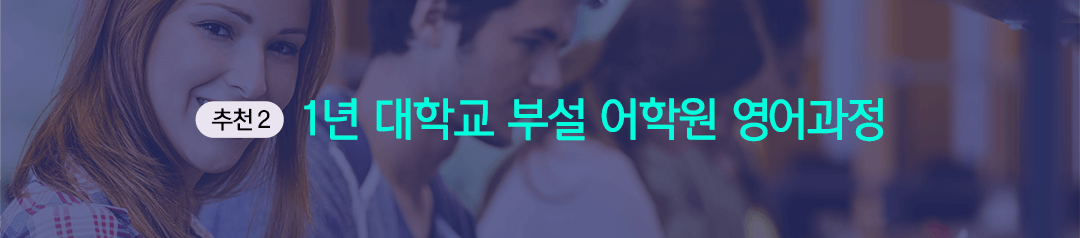 추천2 1년 대학교 부설 어학원 영어과정