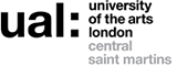ual central saint martins 로고