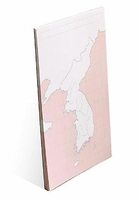 한국사와 세계사<br>정리에 도움을 주는<br>지도 메모패드