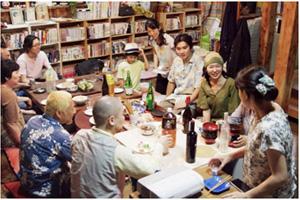 ▲ 지역주민들과 함께 셰어하우스 탄생 2주년을 축하하는 시간을 가졌다.