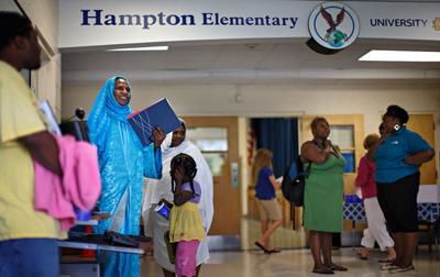 ▲ 노스캐롤라이나주 Hamton Year Round Elementary School