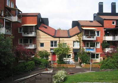 ▲스톡홀롬의 친환경 주거단지 스카프넥