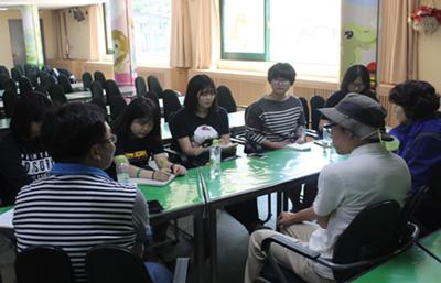 ▲ 동물원 운영 팀장님, 사육사 님과의 인터뷰