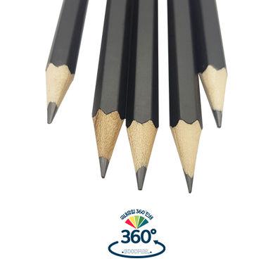무광블랙 육각연필