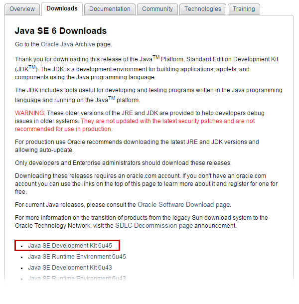 Java SE 6 Install 및 패스 설정 방법 - 다필요없다 한방에 끝내기 JAVA