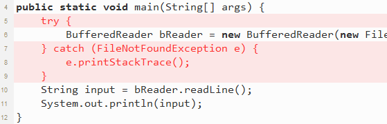how to catch input mismatch exception java