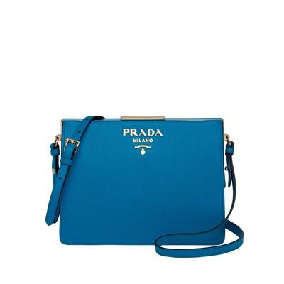 32e0b0810f20 공식홈페이지제품 프라다 가죽 가방 라이트 Prada Light Frame Leather Bag CELESTE 1BC046 2EVU  F0076 V OOO