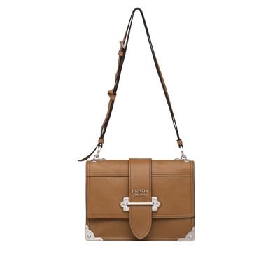 755b625e1aec 공식홈페이지제품 프라다 가죽 숄더백 가방 Prada Cahier leather shoulder bag CINNAMON ASTRAL  BLUE 1 1BD095 PEO F0WF8 V SCH