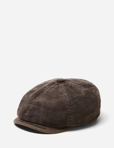 5459680ba18 공식셀렉트샵제품 Stetson Hats 모자 Stetson Hatteras Corduroy Newsboy Cap (Cotton) in  Brown 6651104-6-55