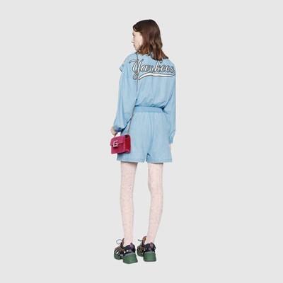 307731e3423 공식홈페이지제품 구찌 점프수트 Women s jumpsuit with NY Yankees™ patch 543060 XRC03 4048