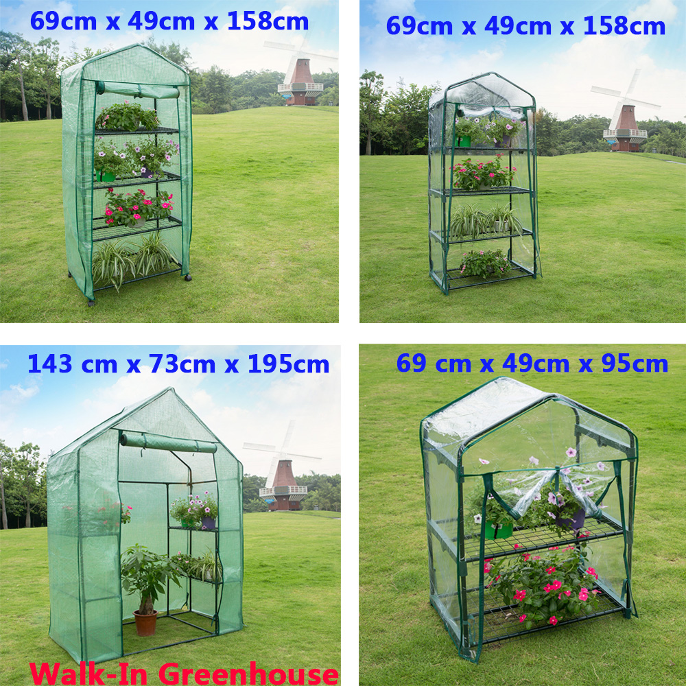 Green House Mini Portable Greenhouse Indoor Outdoor Plant ...