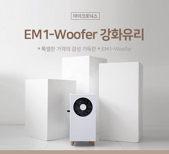 마이크로닉스 EM1-Woofer 강화유리