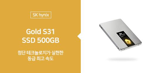 [SK hynix] Gold S31 SSD 500GB