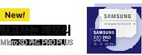 [삼성전자] Micro SD 카드 PRO PLUS (512GB) [MB-MD512KA/KR