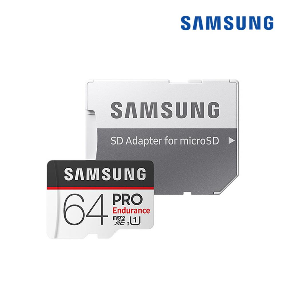 [삼성전자] Micro SD카드 Pro Endurance 64GB