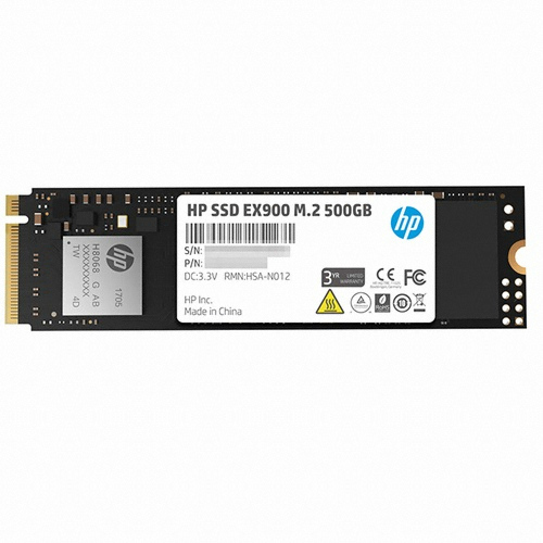 [HP] SSD EX900 M2 NVMe 2280 500GB