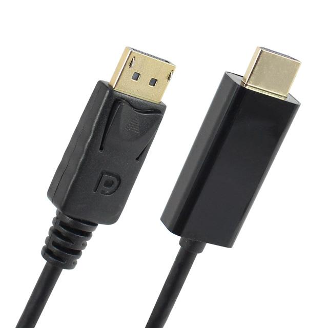 [NEXI] NX-DPHD12-010M DisplayPort 1.2 to HDMI 1.4 케이블 2M [NX602]