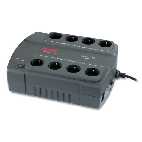 [APC] Back-UPS 400VA/240W 무정전전원장치 [BE400-KR]