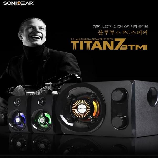 [소닉기어] TITAN7 BTMI 블루투스 컴퓨터 스피커