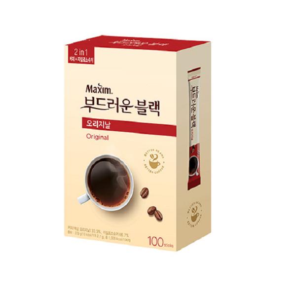 ⓢ맥심 오리지날 부드러운 블랙믹스(2.7g*100T/동서식품)