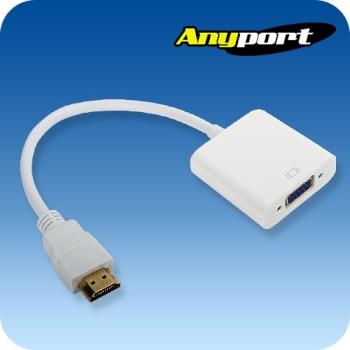 [Anyport] 애니포트 HDMI to VGA(RGB) 컨버터 오디오미지원 [AP-HDTV1]