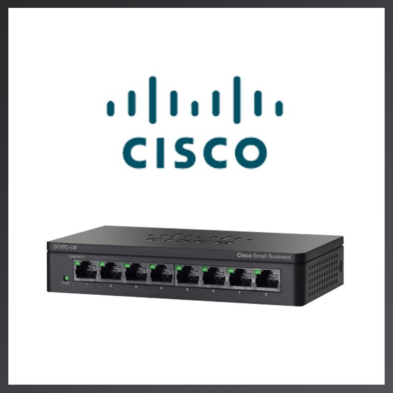 [CISCO] SF95D-08 [스위칭허브/8포트/100Mbps/데스크탑형]