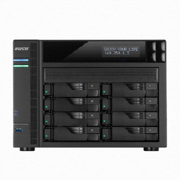 [ASUS] ASUSTOR AS6208T + 씨게이트 아이언울프 프로 32TB (4TB x 8EA)