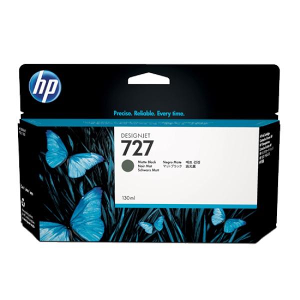 [HP] 정품플로터잉크 No.727 B3P22A 매트블랙 (DesignJet  T1500/T920, 130ml)