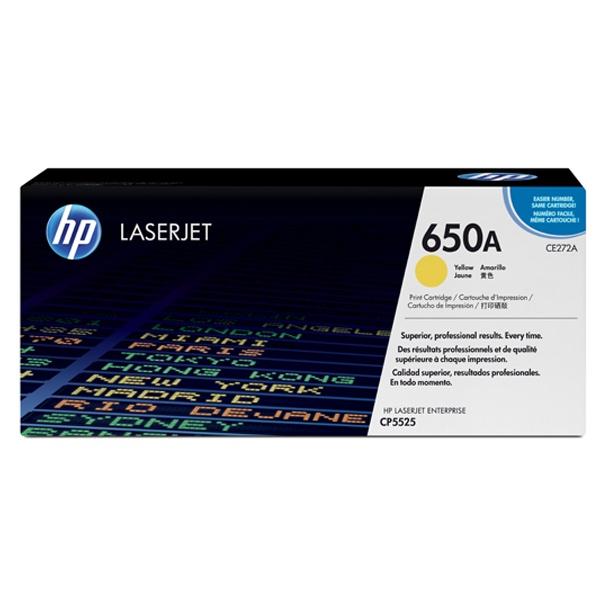 [HP] 정품토너 No.650A CE272A 노랑 (CP5525dn/CP5525n/CP5525xh/M750dn/15K/15,000매)
