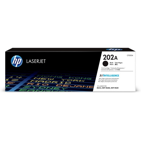 [HP] 정품토너 No.202A CF500A 검정 (M280nw/1.4K/1,400매)