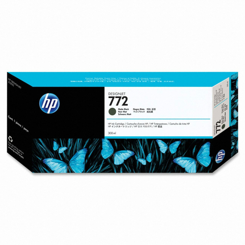 [HP] 정품플로터잉크 No.772 CN635A 매트블랙 (DesignJet  Z5200, 300ml)