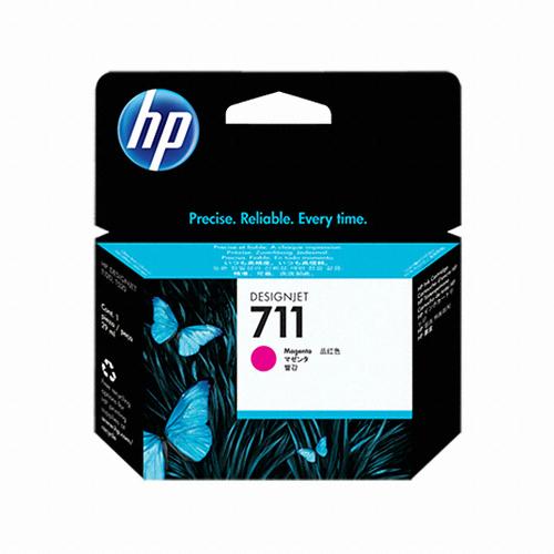 [HP] 정품플로터잉크 No.711 CZ131A 빨강 (DesignJet  T120/T520 , 29ml)