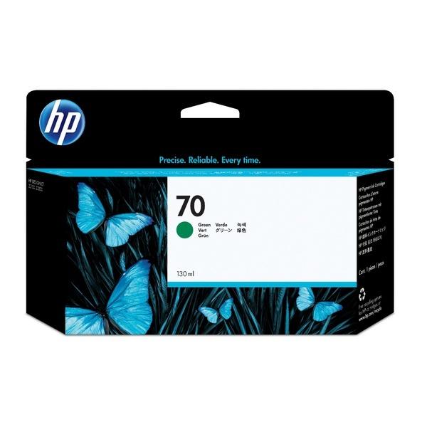 [HP] 정품플로터잉크 No.70 C9457A 녹색 (DesignJet  Z3100,3200, 130ml)