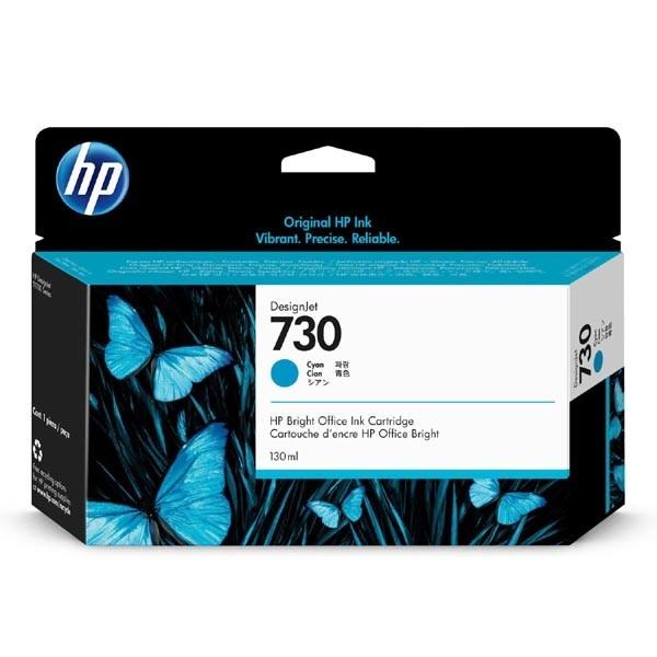 [HP] 정품플로터잉크 No.730 P2V62A 파랑 (HP 730, 130ml)